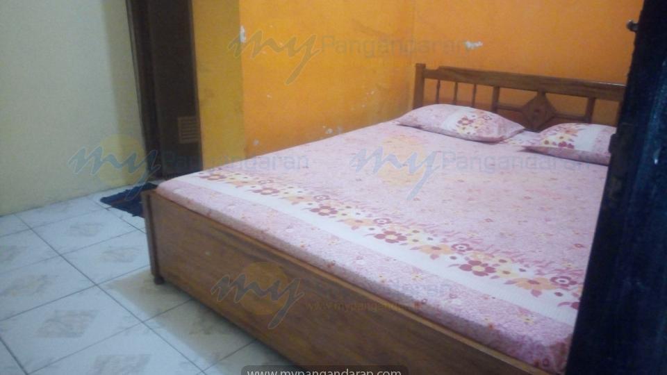 Kamar bungalow Pondok Banyu Biru Pangandaran<br />