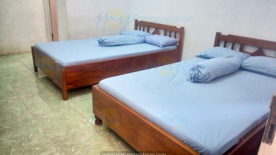 kamar 2 bed Pondok Banyu Biru Pangandaran