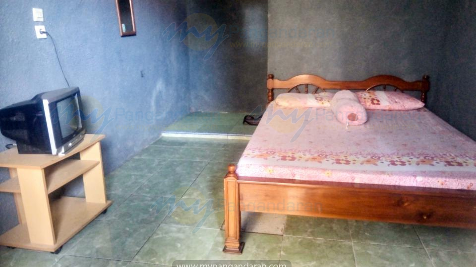kamar 1 bed Pondok Banyu Biru Pangandaran