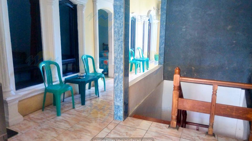 tampilan lantai 2 Pondok Banyu Biru Pangandaran